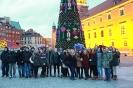 Wycieczka kl. 1F do Warszawy